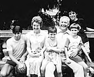 Don and Ellen Styles with their four boys at the Midwest Bible School in 1978.