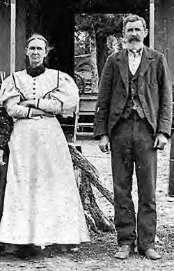 Bro. Sam Ealy Johnson, Sr. and Sis. Eliza Johnson, grandparents of President Lyndon Johnson.