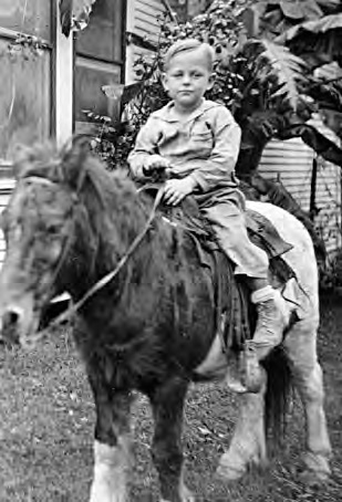 Bob Lloyd at five years old
