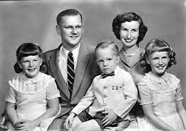 Bob Lloyd with family