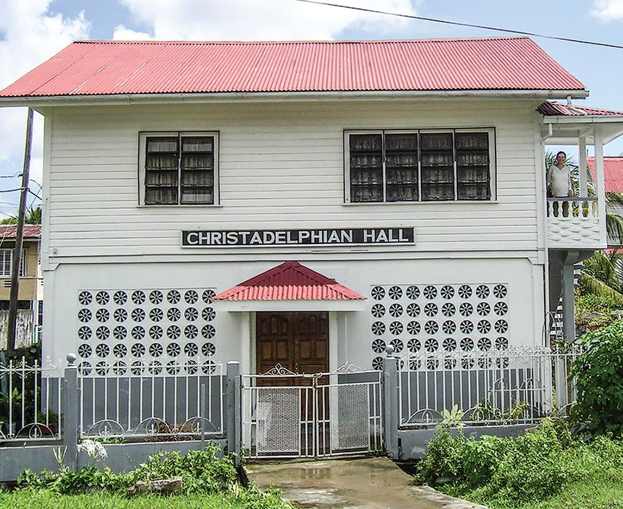 The New Amsterdam Ecclesial Hall in Guyana